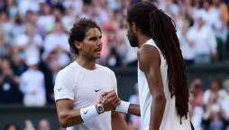 Dustin Brown vs Rafael Nadal