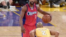Derek Fisher in maglia Lakers!