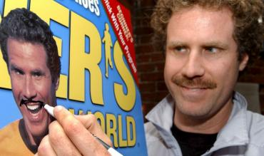 Will Ferrell firma una copia di Runner's World!