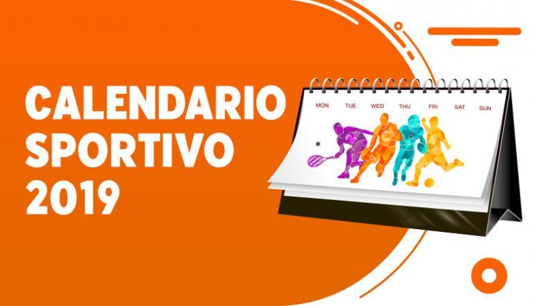 Calendario Sportivo.Il Calendario Sportivo 2019