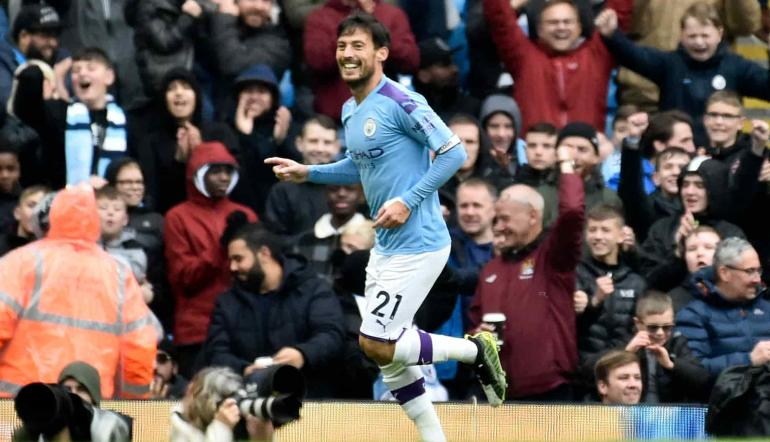 David Silva, fantasista del Manchester City!