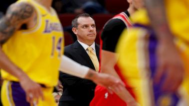 Frank Vogel, coach dei Lakers.